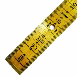 High Definition Wooden Government Stamped Metre Stick
