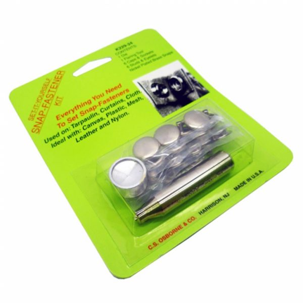 Snap Fastener Kit (Home Use)