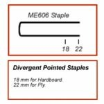 Maestri ME606 Floor Laying Divergent Staple Gun