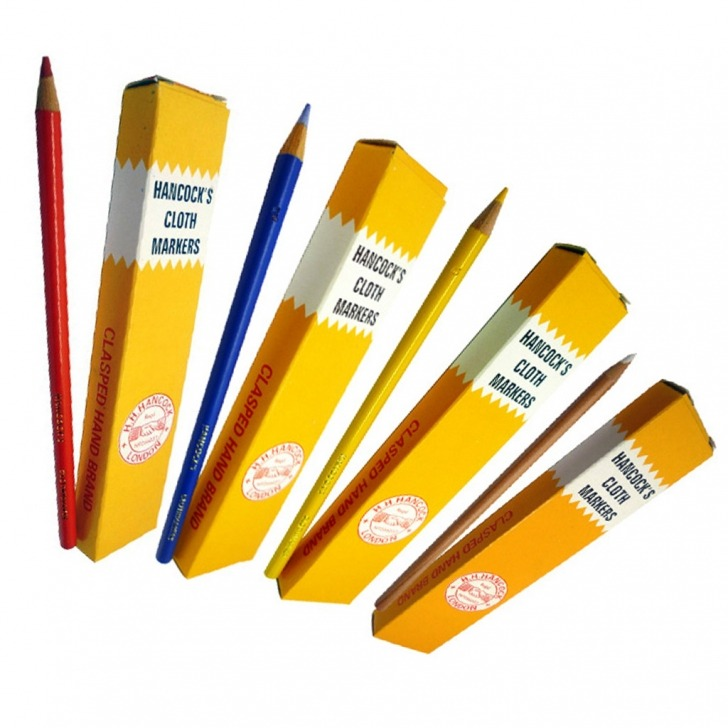 Hancocks Tailors Cloth Marking Pencils Bulk 144 Pack