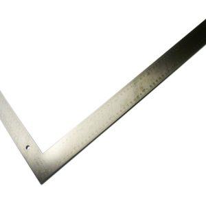 Rigid Durable Steel Carpenters Set Square 60cm by 40cm (Metric)