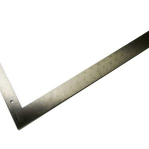 """Rigid Durable Steel Carpenters Set Square 16"""" by 24"""" (Imperial)"""