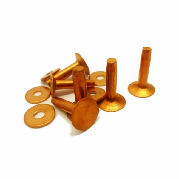 Copper Rivets & Burrs (Bulk or Handy Pack)