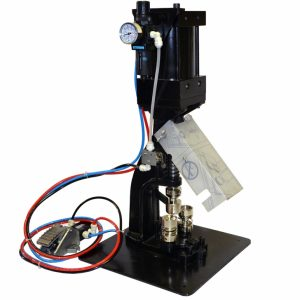 Pneumatic Button Machine (Fast Swivel Action)