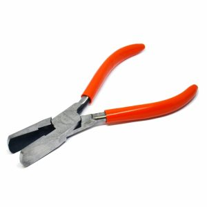 Duck Bill Saddlers Pliers (Serrated or Smooth Jaw)
