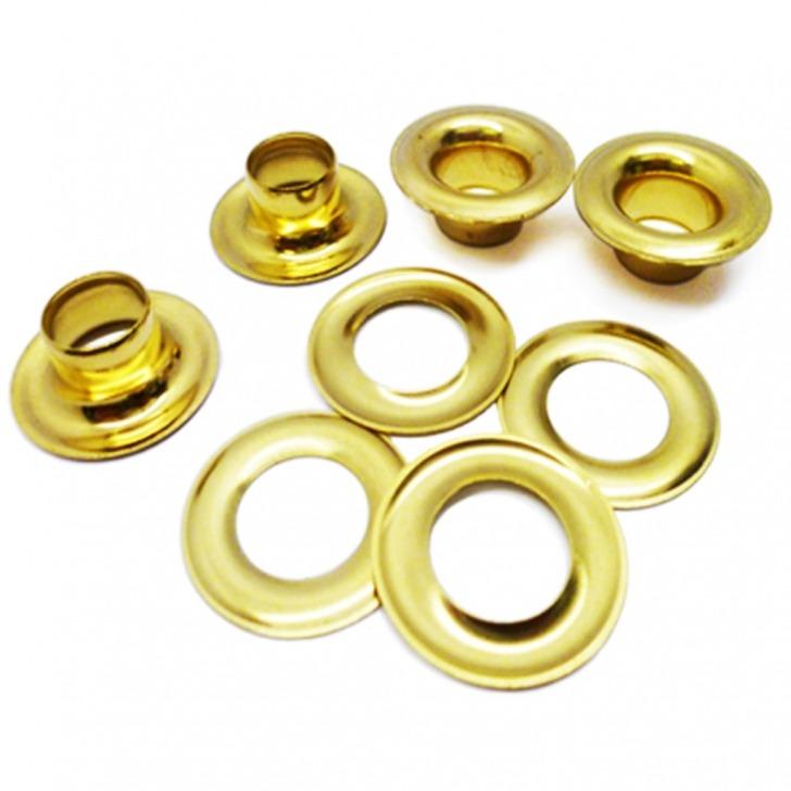 Solid Brass Eyelets