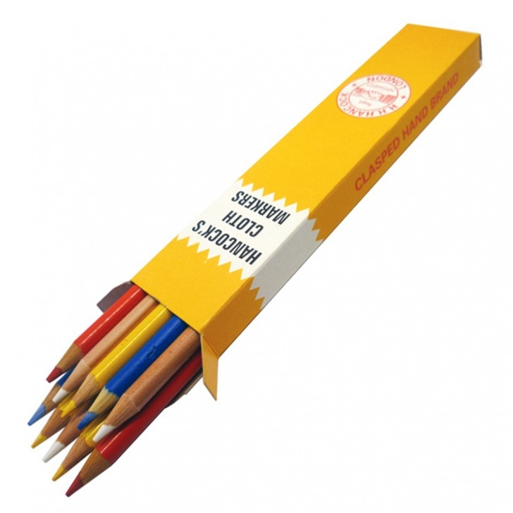 Hancocks Tailors Cloth Marking Pencils 10 Pack