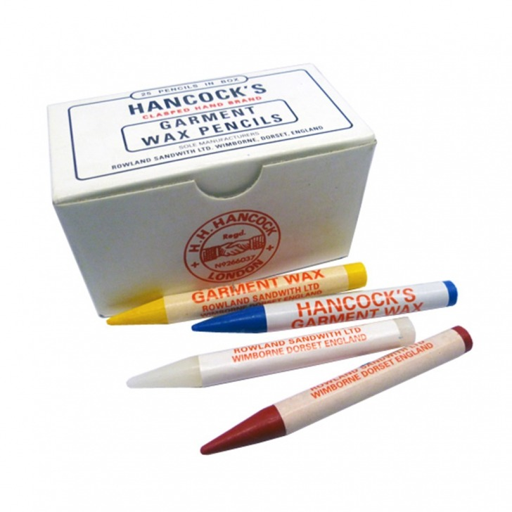 Hancocks Garment Marking Wax Pencils (25's)