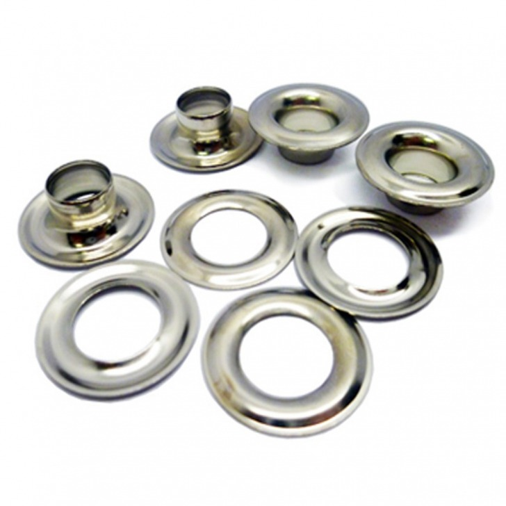 Nickel Plated Brass Eyelets