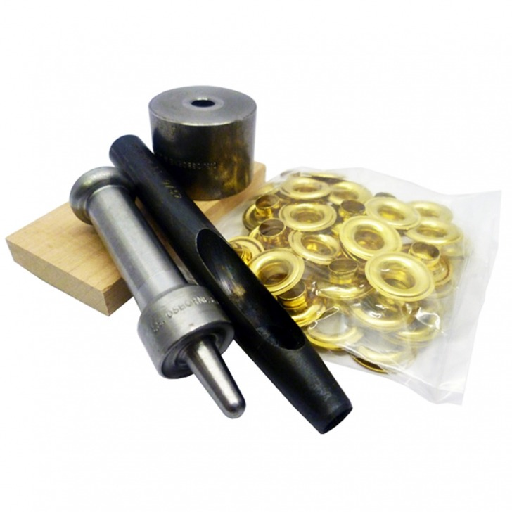 Semi Professional Eyelet Kit (Brass / Nickel)