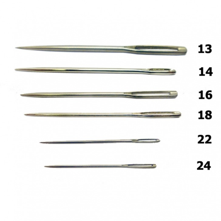 Tapestry Needles - Sharp Point (25's)