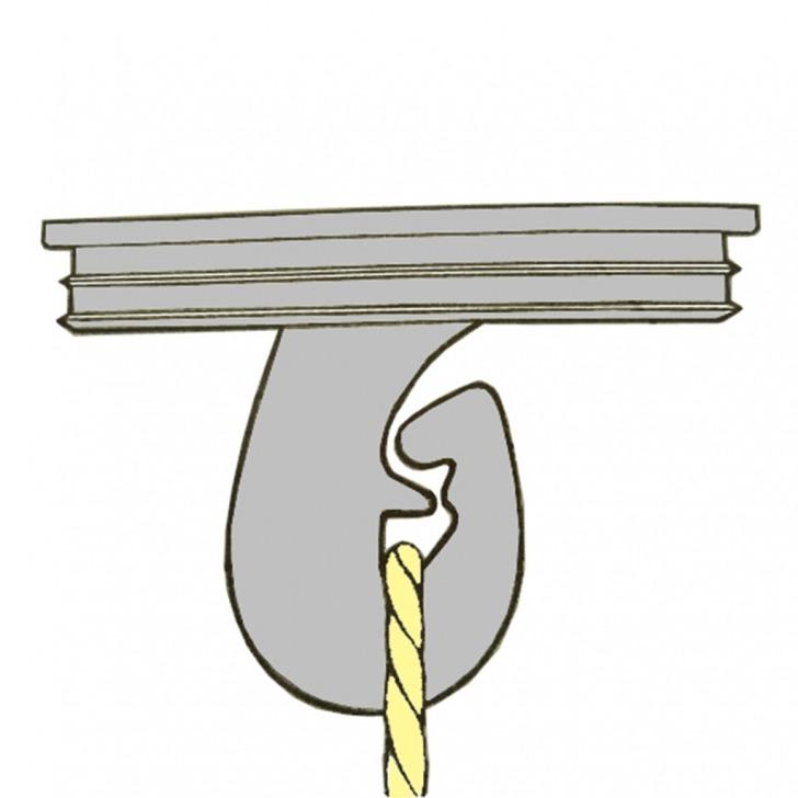 Nylon Super Hook Button Back
