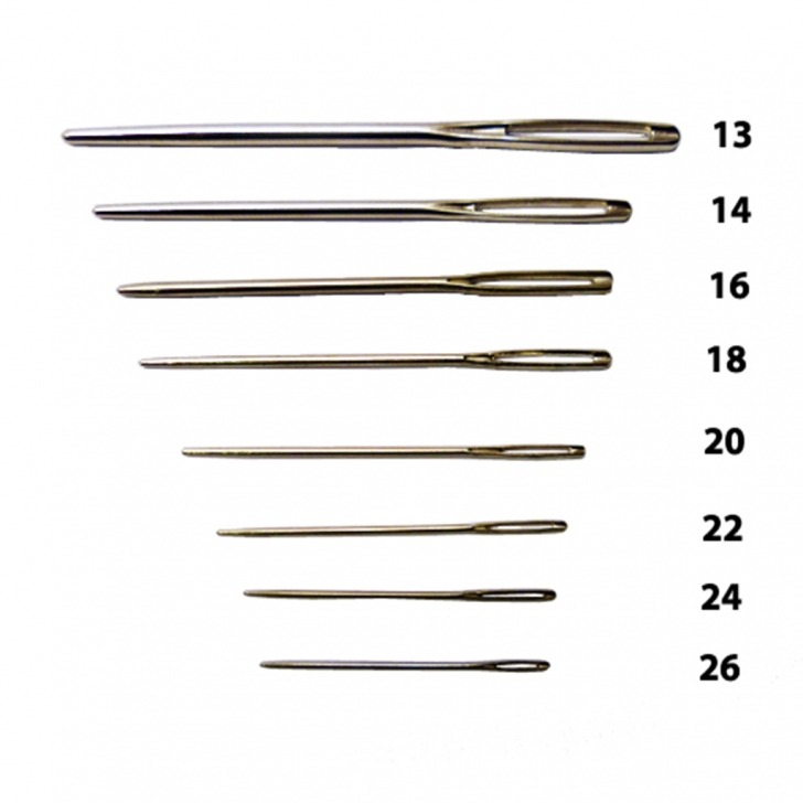 Tapestry Needles - Blunt Point (25's)