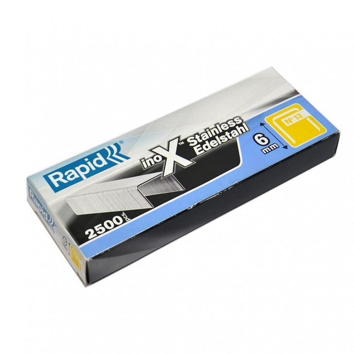 Rapid 13 Series Stainless Steel Staples 6 - 8mm